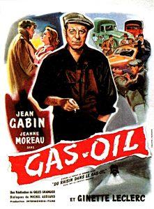 Les années 1950 seront pour Marmeth les années « Gasoil », en référence au film avec Jean Gabin