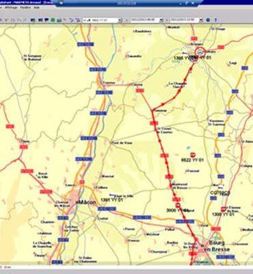 Transports Marmeth - Le système de gestion du parc informatique permet d'optimiser l'utilisation des véhicules