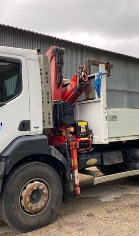 Marmeth - Location de camion grue avec conducteur