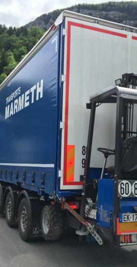 Retrouvez l'actualité de Transports Marmeth et du secteur du transport routiers en général.