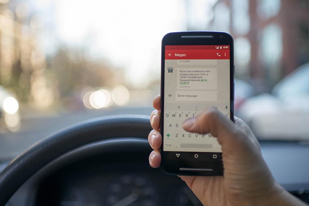 Une fois le camion chargé, le client reçoit un SMS de confirmation lui rappelant la date et l'heure de RDV