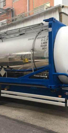 Transport de produits chimiques - Marmeth